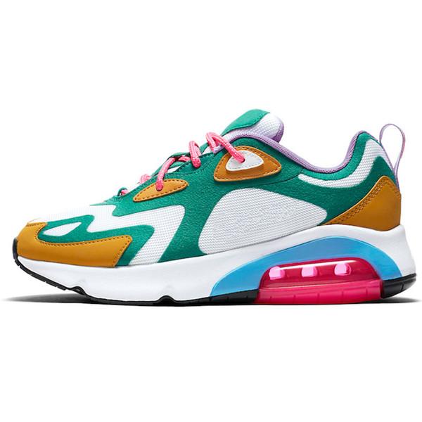 Compre Nike Air Max 200 Homens Mulheres Sapatos De Corrida Ultraboost 5.0 Laser Vermelho Núcleo Pixel Escuro Preto Ultraboosts Trainer Esporte
