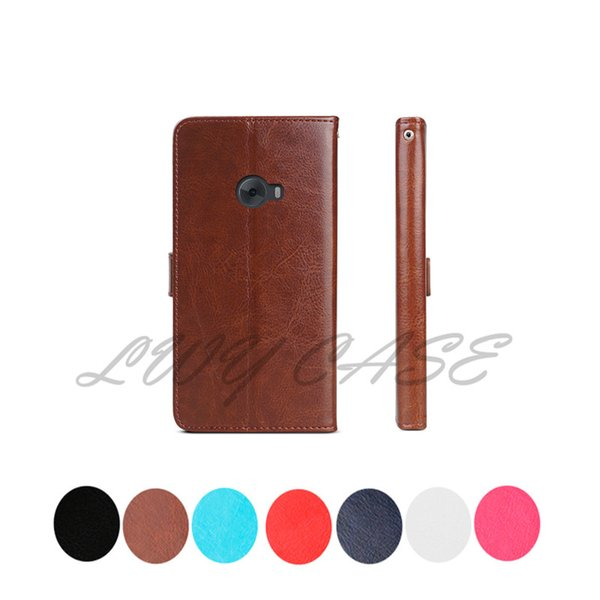 Für xiaomi redmi note 2 3 mi 4 4i 4c 5s retro flip brieftasche leder mit kartensteckplätze stehen halter case