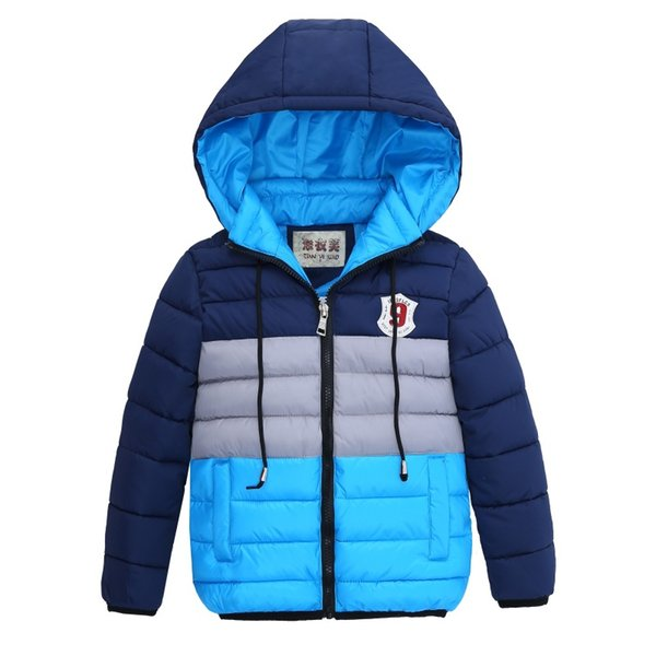 Winter Boys thick Hooded Winter jacket Boys Coat kids Zipper Jackets high quality Children Winter Coat kids clothes 4 6 8 Years