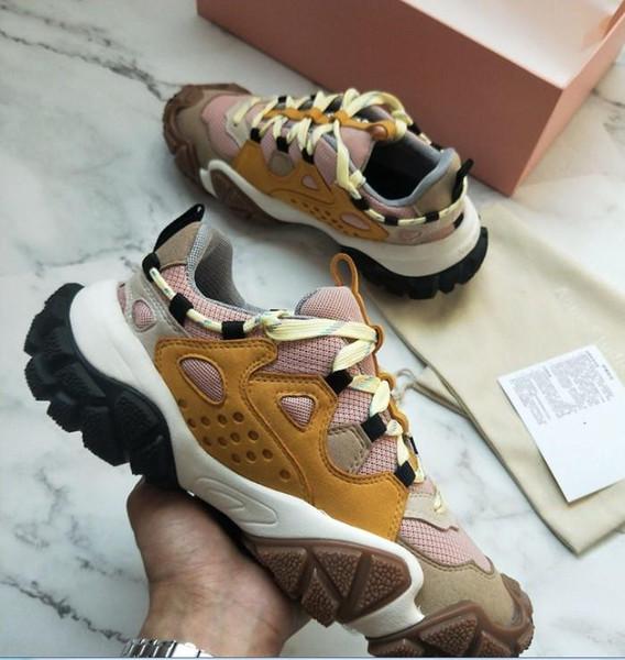 Acne Studios Bolzter W Chaussures mode Designer Chaussures de sport de luxe chaussures papa chaussures de sport womenTechnical chaussures Sneakers Best nm02 qualité