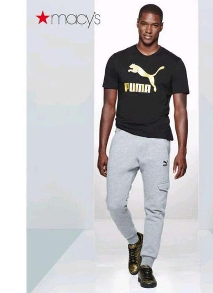 Chemise d'été pour homme PUMA Fashion et Designer professionnel