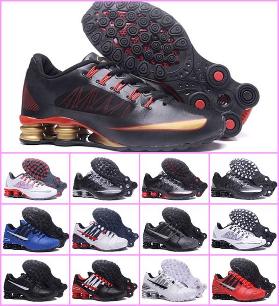 2019 Chaussures Shox Avenue 802 803 Herren Laufsportschuhe Günstige DELIVER OZ NZ R4 Herren Sportschuhe Designer Trainer Luxusschuhe