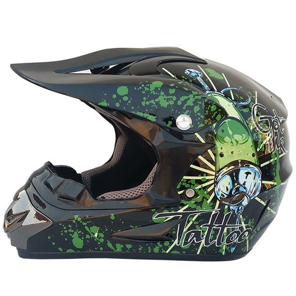 Motocross Helmet Motorcycle Helmet Full Face Riding Capacete De Moto Off Road Motorbike Racing Shield Moto