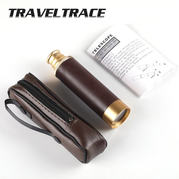 & times leather pirate 25x30 hd pirate outdoor hunting digital binoculars monocular telescope for shooting tourism thumbnail