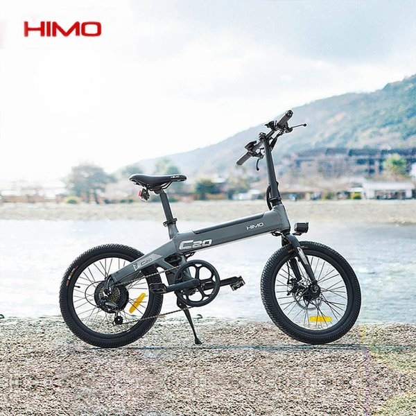 best selling Updated electric bicycle HIMO C20 Electric Bicycle 100kg 250W36 100% Original Moped Bicycle for adults 20 inch Tire