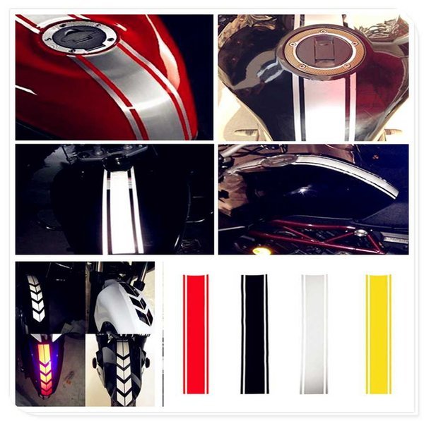Motocicleta reflexiva Etiqueta Fuel Oil Tank Pad Decal PARA YAMAHA YZF 600R Thundercat R1 R6 R25 R3 FZ1 Fazer FZS 1000S