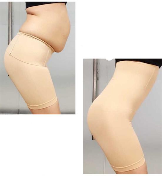 Women High Waist Slimming Tummy Control Boxer Briefs Safety Pants Postpartum Shapewear Seamless Underwear Body Shaper Lady Corset A32601