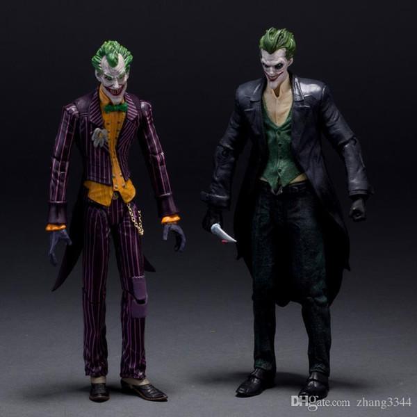 DC Batman Joker Arkham Origins PVC Action Figure Koleksiyon Model Oyuncaklar 7