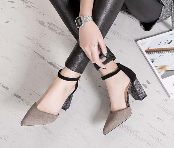 new Thrill Heels sandals Women party Dress Wedding Shoes Sexy Letters shoes Patent Leather high heels shoe09 p19