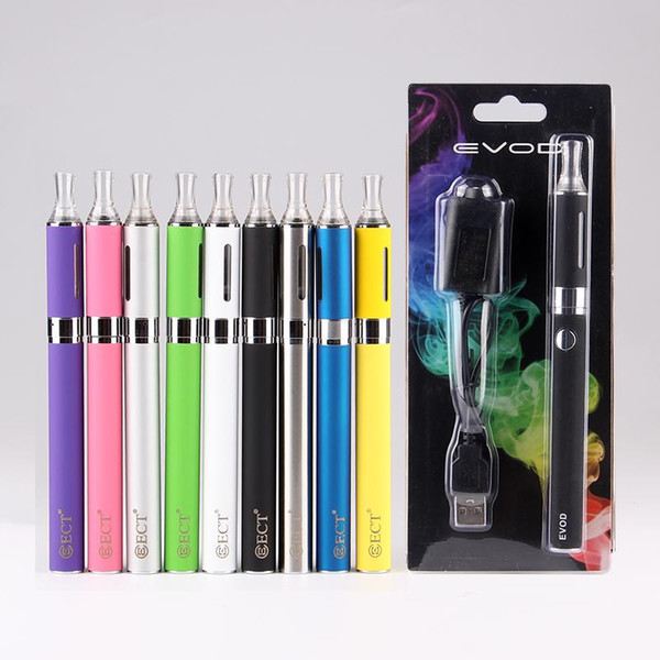 MT3 EVOD Starter Kit E-Cig kits Electronic Cigarette Blister Package with EVOD battery 650mAh 900mAh 1100mAh vape pen