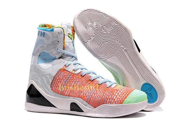 Ucuz Satış kobe 9 Yüksek Dokuma BHM / Paskalya / Noel Basketbol Ayakkabıları En kaliteli Erkek KB 9 s Erkekler için eğitmenler Spor Sneakers Boyutu 40-46 V8