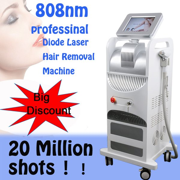 More professional Diode Laser hair removal machine 808nm Painless hair removal machine permanent diode laser 808 hair removal