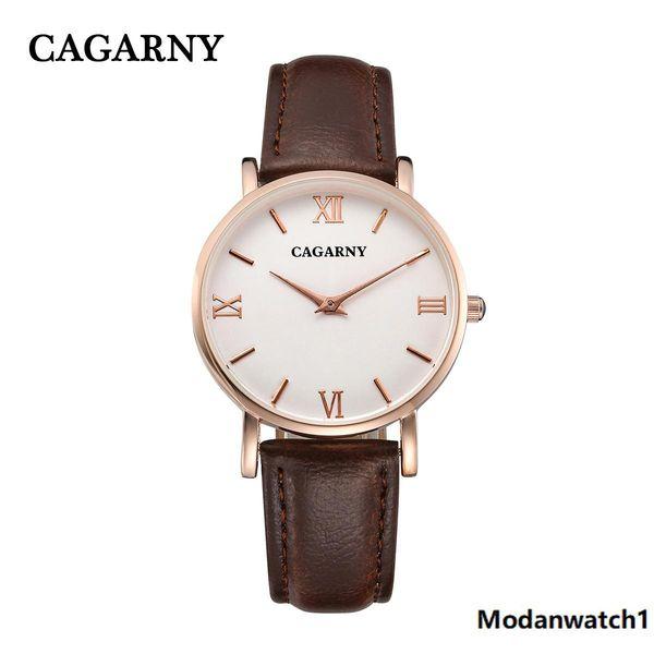 Cagarny Top Herren Quarzuhren Luxus Mode Sport Armbanduhr Wasserdicht Schwarz Edelstahl Herrenuhren Uhr Relogio Masculino