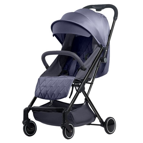 Baby stroller sit lie adjustable light and easy to fold ultra light small four seasons universal newborn baby child stroller
