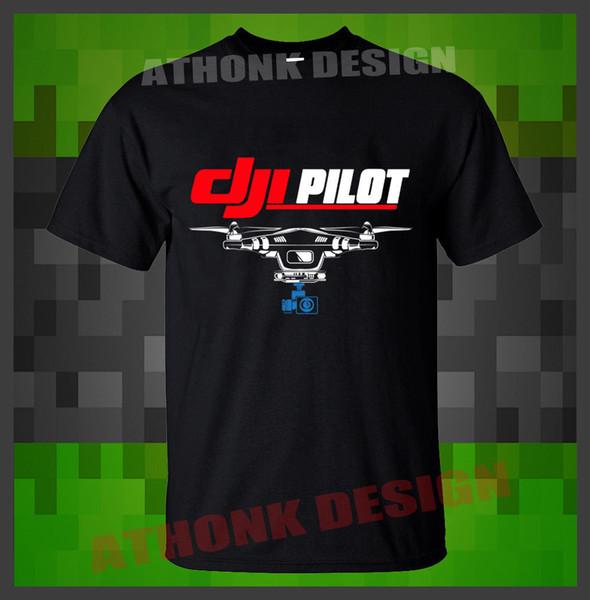 NEW DJI Phantom 4 Pro Obsidian Camera Drone T-SHIRT