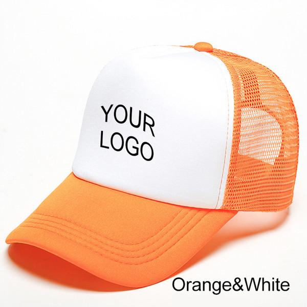 turuncu beyaz bir