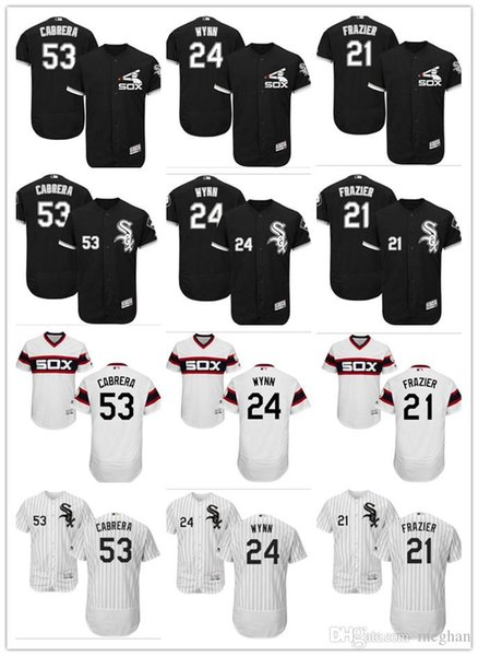 superior quality bbbaf b8a32 2019 Custom Men Women Youth Majestic White Sox Jersey #21 Todd Frazier 24  Joe Crede 53 Melky Cabrera Home Black Kids Baseball Jerseys From  Dh_dhagte7, ...