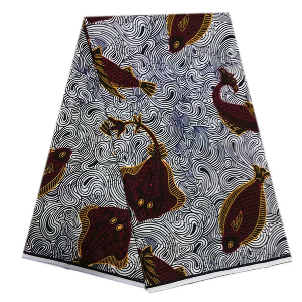 Hollandais wax african wax prints fabric high quality real dutch waxs ankara fabric african fabrics cotton fabric 6 yards/piece