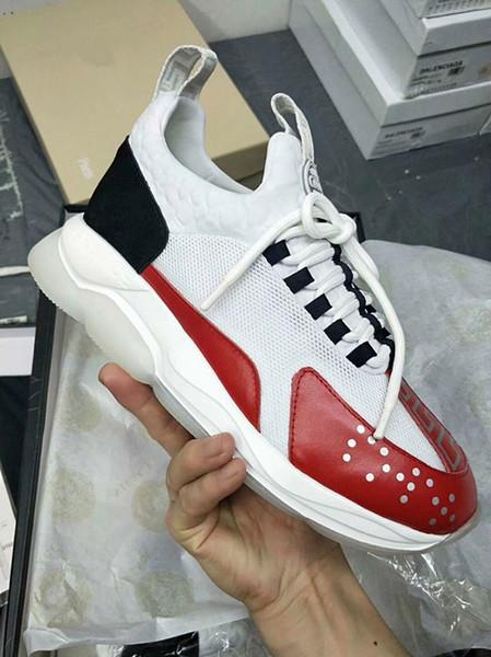 High-end dos homens calçados esportivos 2019 nova moda britânica costura respirável conforto temporadas pode usar maré selvagem 89603