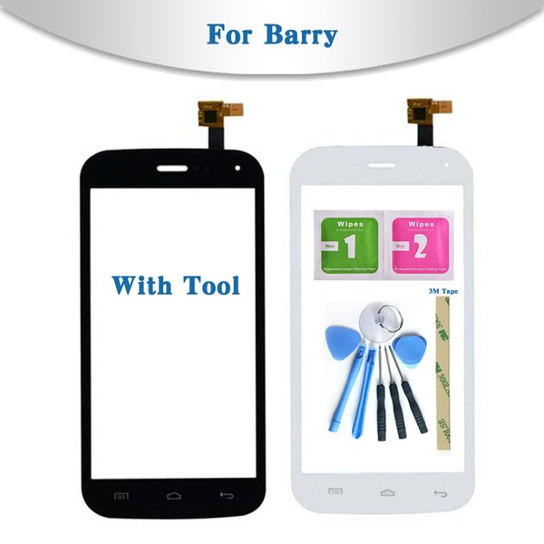 """Replacement High Quality 5.0"""" For Wiko Barry Touch Screen Digitizer Sensor Outer Glass Lens Panel"""