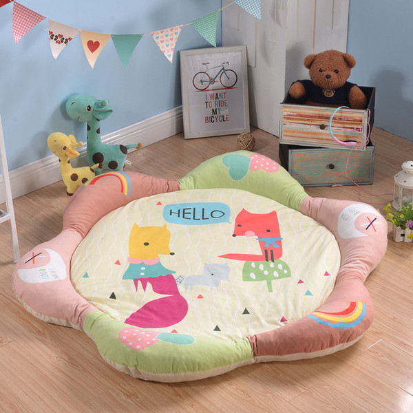 best selling Baby Crawl Pad Game Pad Children Thickening Climbing Cartoon Defence Land Pad
