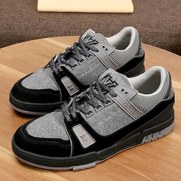 Chaussures causales Hommes Mode Chaussures Chaussures de hombre Entraîneur Sneaker Chaussures Hommes Type de mode Chaussures pour hommes avec Origin Box rapide des navires