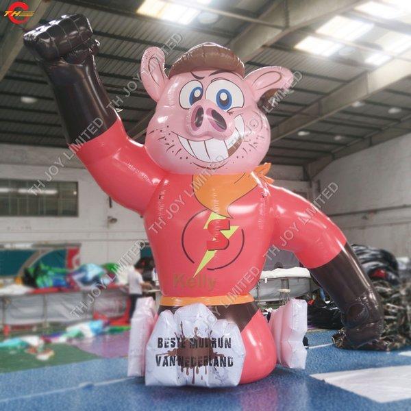 géant en plein air dessin animé gonflable avec l'impression pour les dessins animés promotion publicitaire des animaux gonflables modèles fabricant