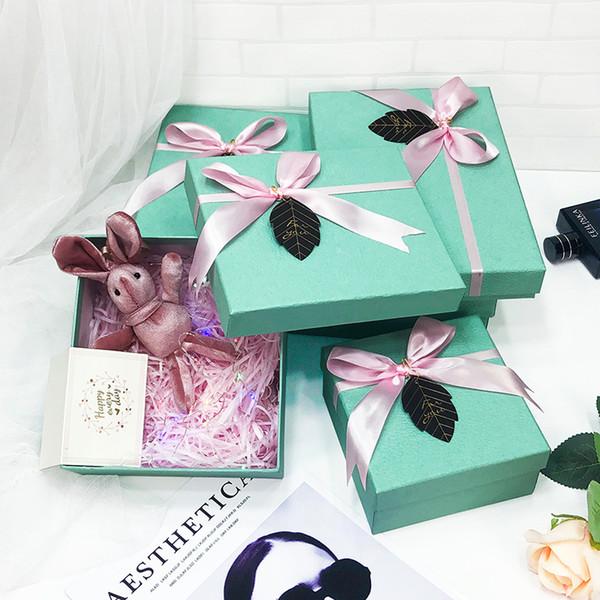 boîte de papier personnalisés sacs Boîtes cadeaux Place Favors Fête de mariage Lovers Coffrets cadeaux fournitures d'emballage partie