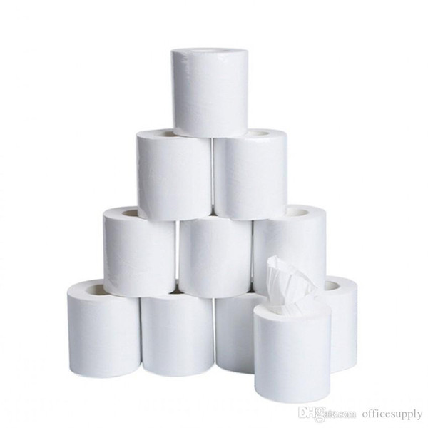 top popular 10x10cm 10pcs Three Layer Toilet Tissue Home Bath Toilet Roll Paper Soft Toilet Paper Skin-friendly Paper Towels 2021