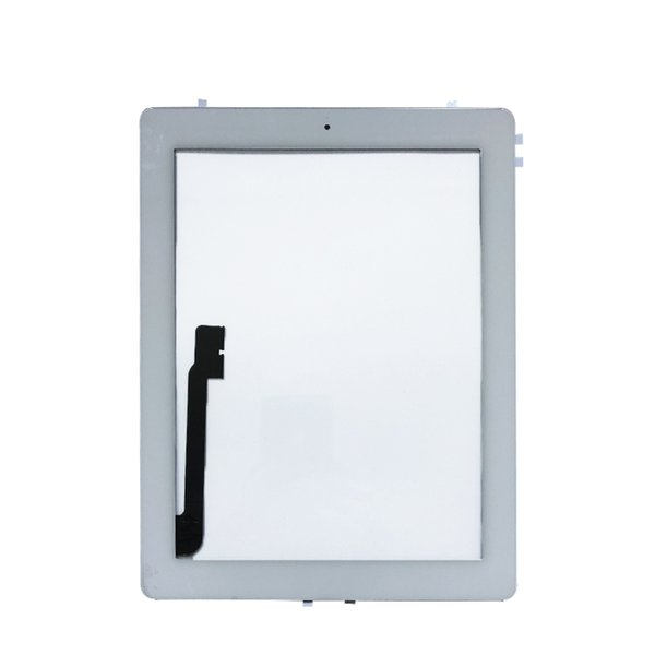 For iPad 3 4 iPad3 iPad4 A1416 A1430 A1403 A1458 A1459 A1460 Touch Screen Digitizer Sensor Glass Panel with Home Butto