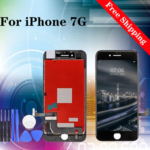 lcd display screen replacement for iphone 7g tested one by one with 12 months warranty