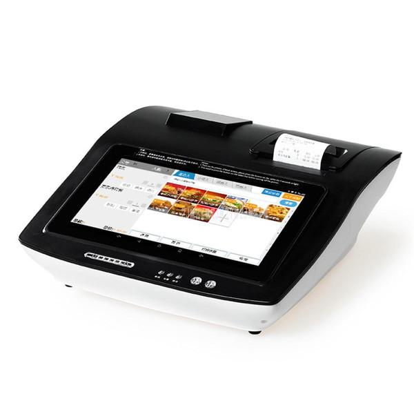 10.1 Inch Touch Screen Tablet Supermarket Cash Register Machine Built-in Printer Print Receipt Support WIFI/Bluetooth ZH-BOX