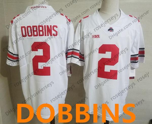 2 JK Dobbins Weiß