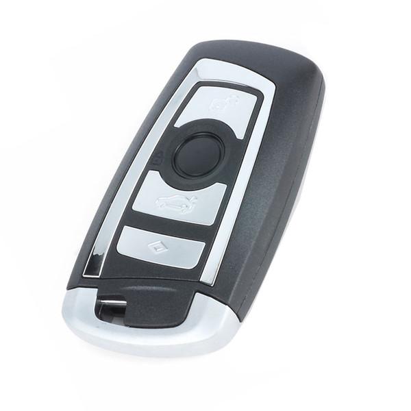 Auto 4 Tasten Smart Remote Key Case Shell Für F CAS4 5 Serie 7 Serie X5 X6 F20 Smart Key Case Cover Mit Schlüsselblatt