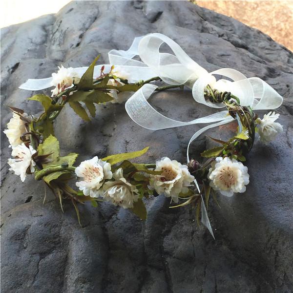 Flor crema estilo 3