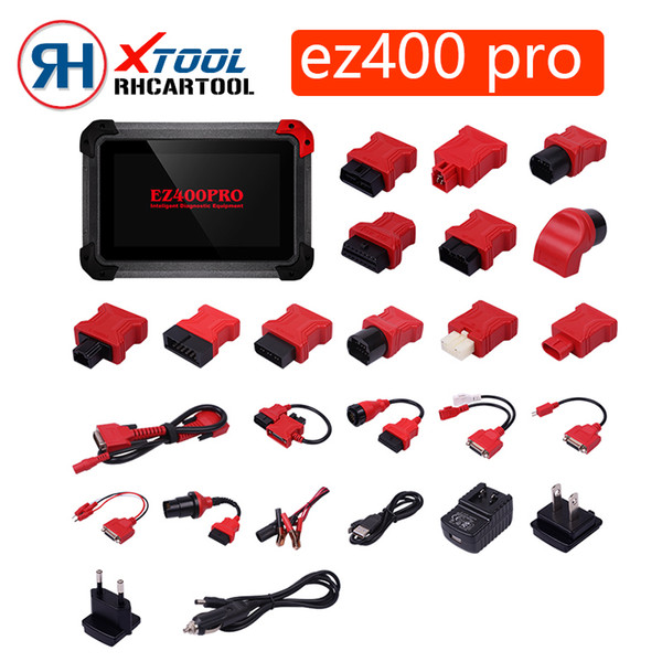 Original XTOOL EZ400 PRO Tablet Diagnostic Tool Support Key Program ,Odometer Adjustment and Airbag Reset Support Malaysia Car