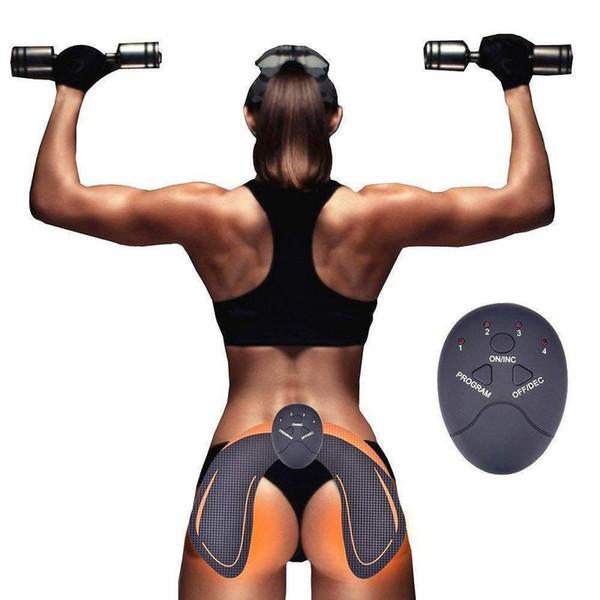 30 jogos / lote DHL Procircle quadril Trainer quadris muscular máquina de exercício de vibração trainer uso doméstico equipamento de treino de fitness com 6 modos hip elevador