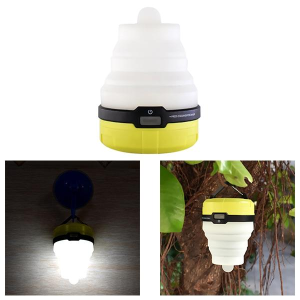 Multifunction Retractable Camping Lights LED Flashlight Outdoor Portable Lantern Mini Tent Light Emergency Lamp Pocket Torch lamp