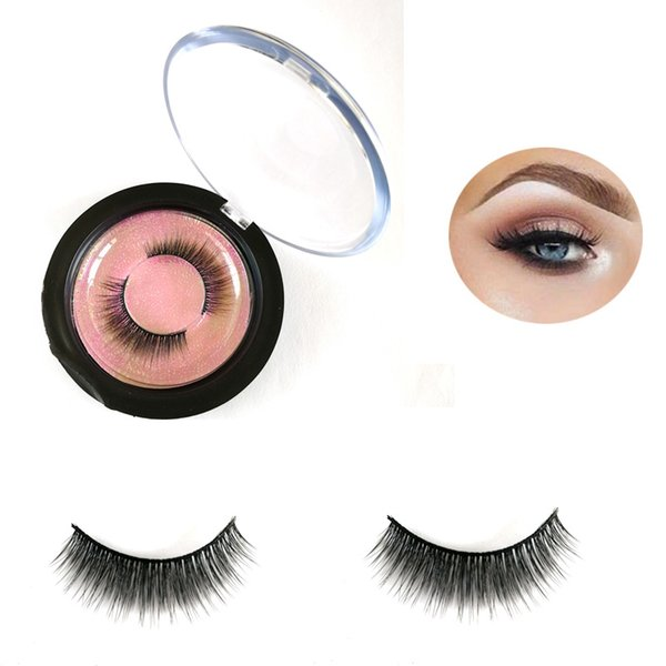 wholesale factory new style handmade 3d faux mink lashes private label custom package faux Mink eyelashes natural hair lashes