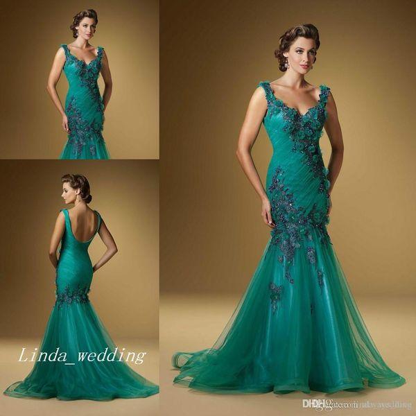 Compre 2019 Jade Verde Vestido De Noche Nueva Llegada De Espalda Abierta De Longitud De Baile Vestido Formal Largo Del Partido A 87112 Del
