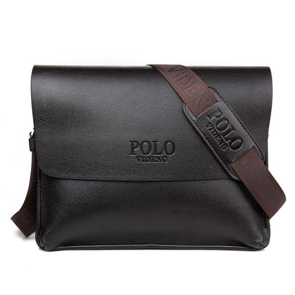Hot Selling Classic Men's Crossbody Bag Brand Design Fashion Men's Shoulder Bag Horizontal Male Leather Messenger for man