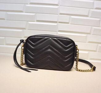 2019 Top Quality Brand design Lettera goffratura Mini cuore Cluth V-a forma di tracolla Donna vera pelle 448065 Crossbody Bag