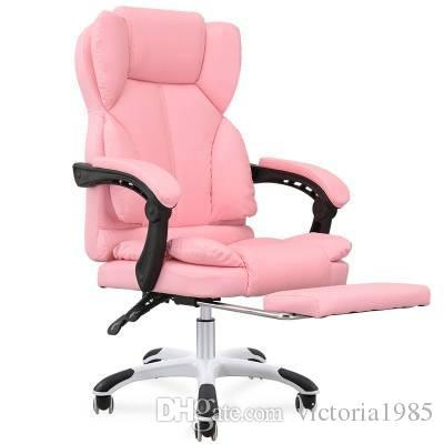 Hot sell High Quality Office Boss Chair pink Household armchair computer chair special offer staff chair with lift and swivel function
