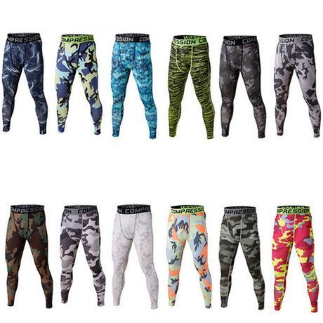 Nouveau Hommes GYM Compression Bodybuilding Pantalones Hombre Fitness Collants Pantalons Pantalons de survêtement Pour Hommes Sport Running Leggings