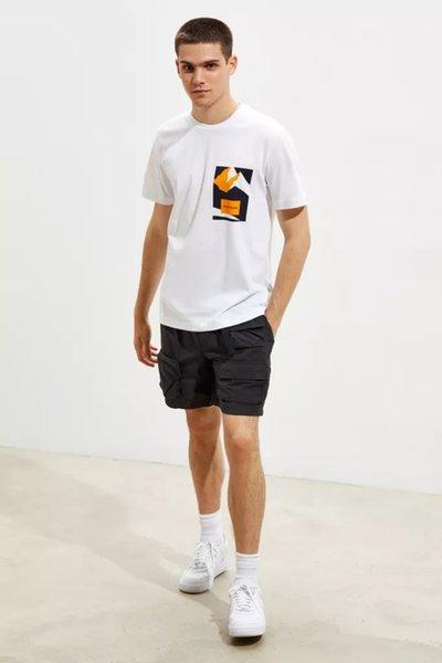 Marca Mens Mulheres Designer T-shirts Os Alpes Montanha impressão pulôver de manga curta Blusas Moda Casual Casual Oneck Tees Top B101008L