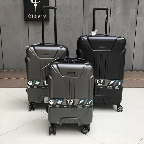 "Women High end Rolling Luggage Travel Suitcase Bag ,PC Trolley Case with wheels,20""24""28"" inch Commercial Box, Men Carry-On"