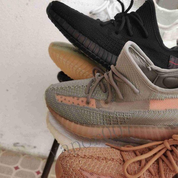 2019 designer kanye west V2 scarpe lundmark antlia synth riflettente Clay hyperspace trfrm zebra sneaker uomo donna chaussures statiche true