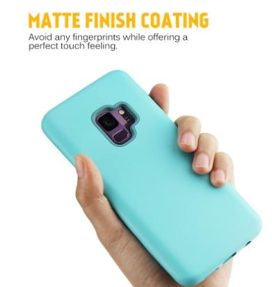 Matte Finish 3 in 1 Hybrid Defender Phone Cases high-quality For iPhone XR XS MAX Samsung Galaxy Note 9 J3 J7
