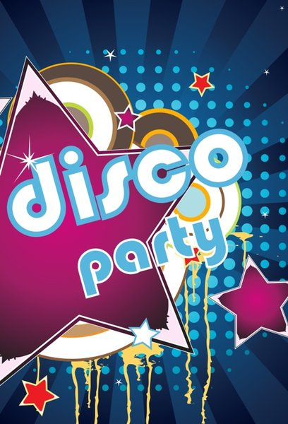 Laeacco Vinyl Backgrounds For Photography Disco Party Celebration Baby Cartoon Music Poster Photo Backdrops For Photo Studio