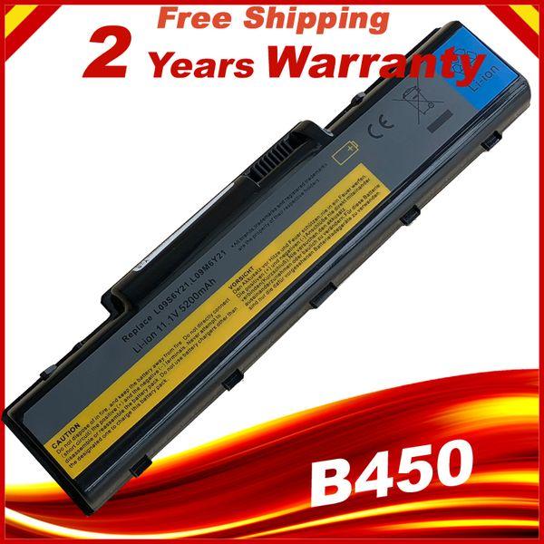 6Cells Laptop battery For Lenovo B450 B450A B450L L09S6Y21 121000866 L09M6Y21